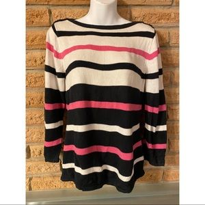 Chaps petite long sleeve sweater (PM)